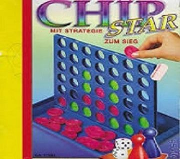 Chip Star Game - Red and Blue