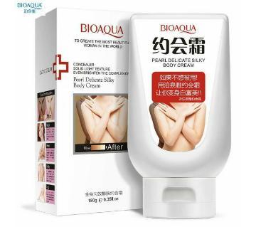 Bioaqua Pearl Delicate Silky বডি হোয়াইটেনিং ক্রিম - PRC