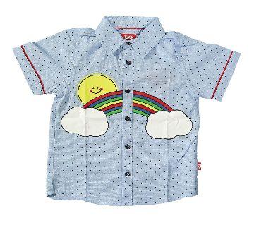 Toddler Boys Half Sleeve Shirt - 18