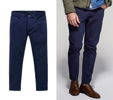 Alcott Navy Stretch Chinos-Copy