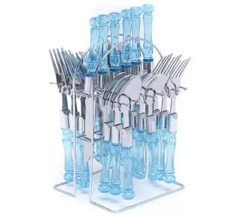 24 psc Dinner Fork Spon Knife Cutlery Set BSS