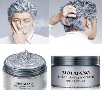 Pretty Cowry Fashion Hair Color Wax Silver- 120gm-China