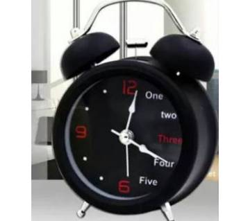 English digital Double Bell Alarm Clock- DNM