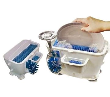 Wash n Bright Easy Dishwasher  White & Blue