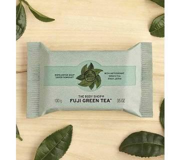 Fuji Green Tea Exfoliating Soap - JAPAN