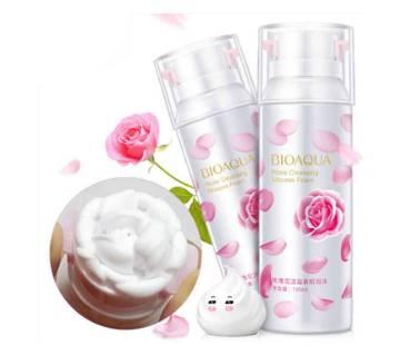 Bioaqua Rose Foaming Cleanser -(ELB2122)
