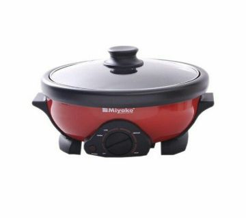 Miyako Curry Cooker (MC 250D 3L)  Red and Black