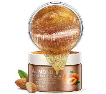 Bioaqua Almond ব্রাইটেনিং বডি স্ক্রাব - China