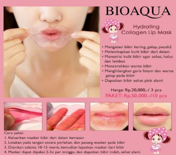 BIOAQUA Pilaten Collagen Nourish Lips Membrane Mask - 8gm - China