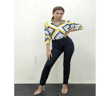 Shirt For Girls - Multicolor