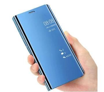 ক্লিয়ার ভিউ স্ট্যান্ডিং ফ্লিপ কাভার কেইস ফর Samsung Galaxy S9