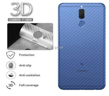 iPhone Xr 6.1 3D ক্লিক্যার কার্বন ফাইবার ব্যাক সাইড প্রোটেক্টর ফিল্ম