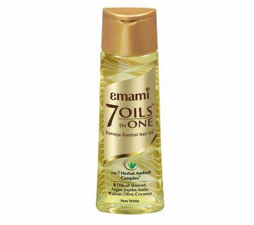 Emami 7 Oils In 1 ড্যামেজ কন্ট্রোল হেয়ার অয়েল 200ml - ইন্ডিয়া