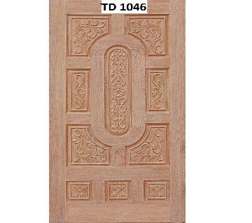 Mehegini wood solid door