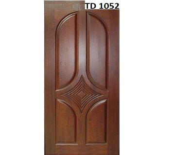 solid Mehegoni wooden door