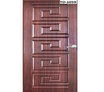 Solid Shegun wooden door