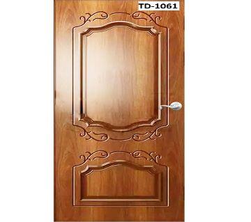 Stylish design solid Shegun wooden door