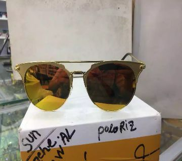 Metal frame sunglasses for men (with box free)
