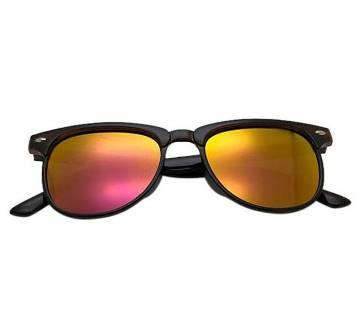 Orange Alloy Sunglasses For Man