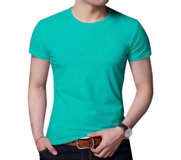 gents solid color t shirt