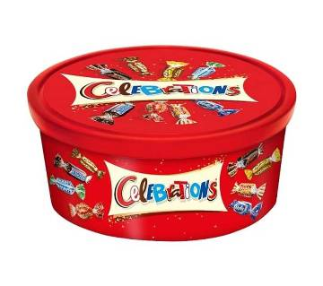 Celebration Mix Chocolate Gift Tub - 660g UK