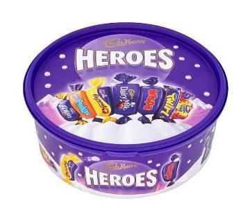 Cadbury Heroes Chocolate Tub (UK) 660g