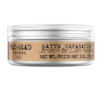 TIGI Bed Head for Men Matte Separation Workable Wax 85g USA