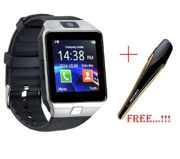 smart watch dz09 ( free Bluetooth headphone)