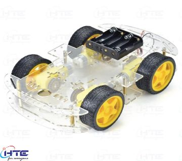4WD Smart Robot Car Chassis Kit