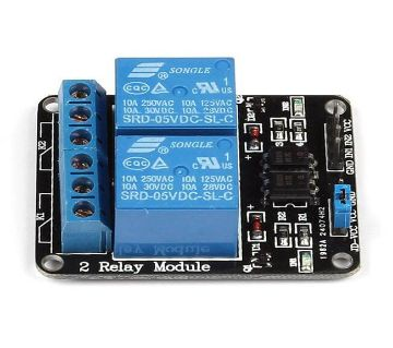 5V 15-20mA 2-Channel Relay Module