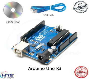 Arduino Uno R3 With USB Cable For Arduino And Software CD