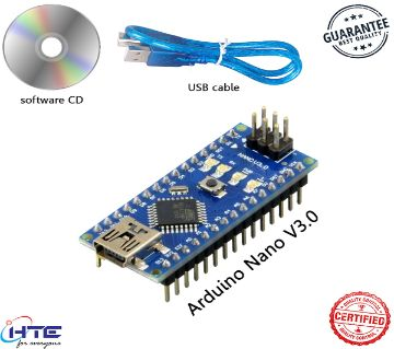 Arduino Nano V3.0 With USB Cable For Arduino And Software CD