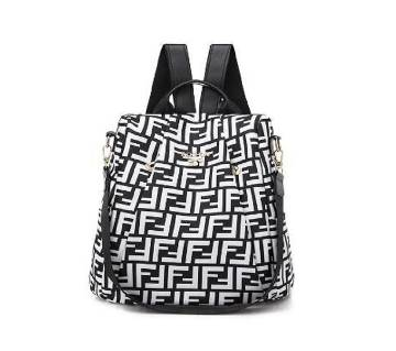 Multi color new designed women backpack (1819) - Black and White - GTZ