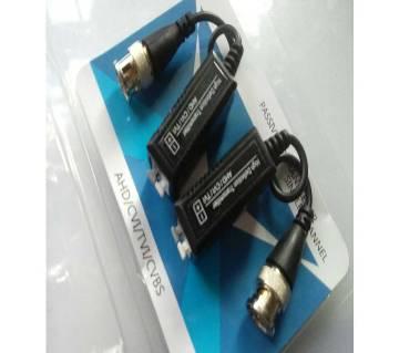 CCTV Camera Video Connector 4pcs