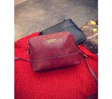 Women Daily Use Nice Handbag or Cross body Bag Red
