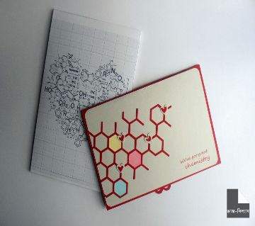 Love Chemistry 3D পপ-আপ কার্ড