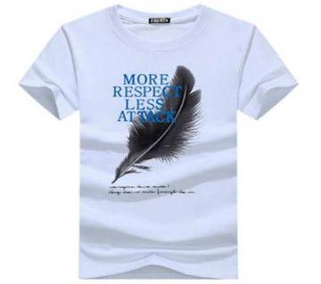 More Respect Less Attack Menz T Shirt