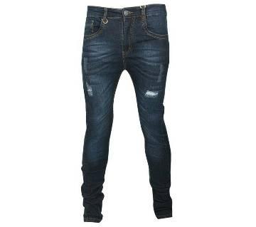 Gents Scratched Cotton Jeans Pant