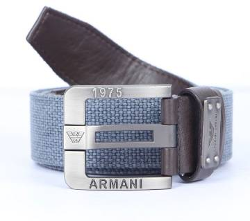 Synthetic belt for man