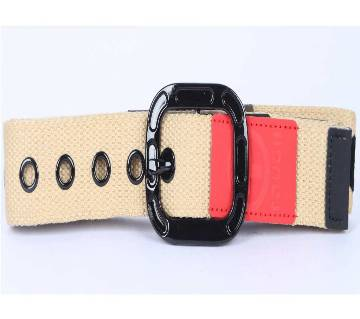Casual cloth fabric belt for men