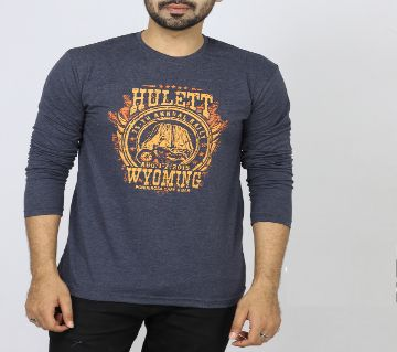 Full Sleeve Cotton T Shirt For Men
