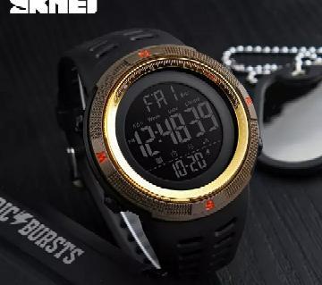 Skmei 1253 Gents Waterproof Digital Wristwatch