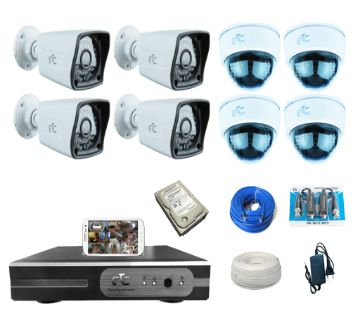GTC G655 8 Channel HD CCTV System (full Package) with Hard Disk