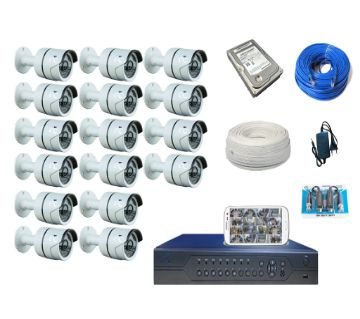 GTC G6936 16 Channel HD CCTV System (full Package) With Hard Disk