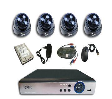 GTC 3448H1 1.3MP AHD IR DOME ক্যামেরা CCTV System