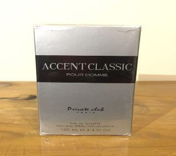 Accent Class pour homme জেন্টস পারফিউম ১০০ মিলি ফ্রান্স