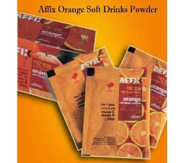 Affix Orange Soft Drinks Powder 8 gm 20pcs