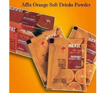 Affix Orange Soft Drinks Powder 8 gm 36Pcs
