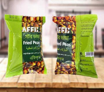 Affix Fried Green Peas 20gm 24pcs Combo - BD