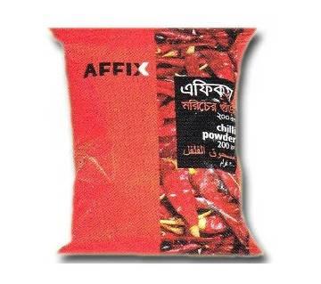 Affix Chilli Powder 100gm 24 pack combo